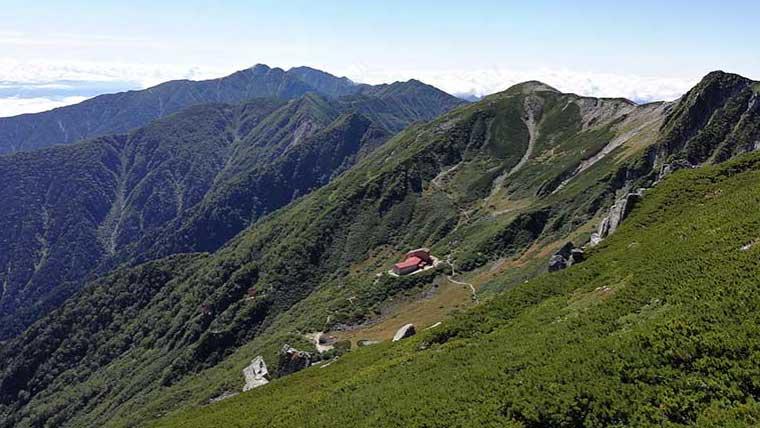 木曽駒ヶ岳トレッキング山小屋1泊2日