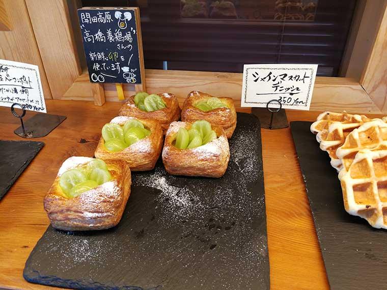 Bee's Bakeryのパン