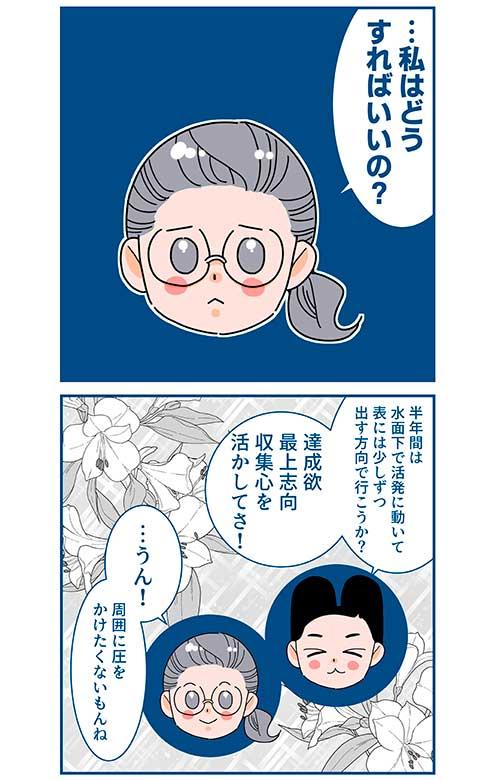 「ストレングス・ファインダー」漫画2
