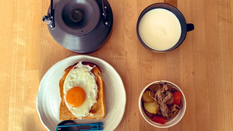 おはようございます。今日の朝食です。2021年4月24日~30日