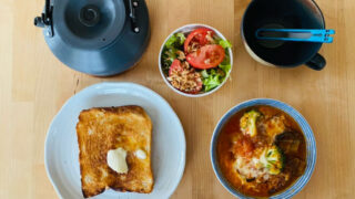 おはようございます。今日の朝食です。2021年5月30日~6月5日