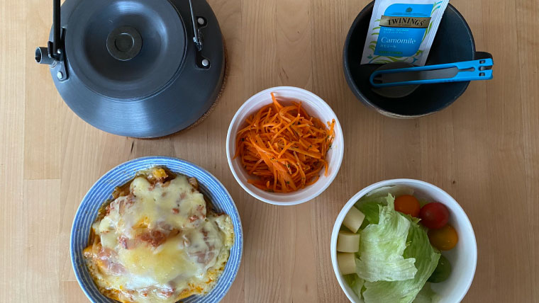 おはようございます。今日の朝食です。2021年6月20日~6月26日