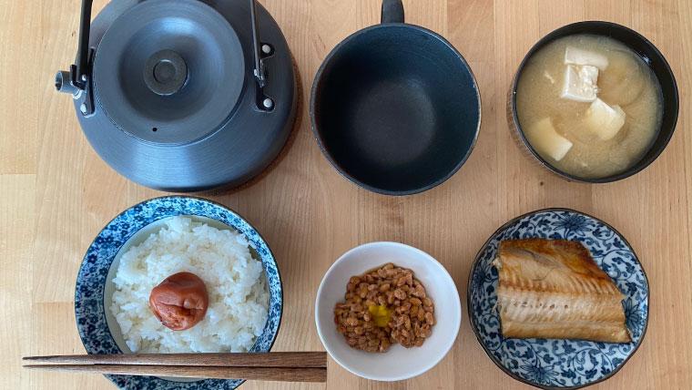 おはようございます。今日の朝食です。2021年8月1日~8月7日